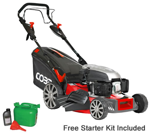 Cobra MX484SPCE 48cm Self-Propelled Electric Start Lawn Mower
