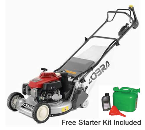 Cobra RM48SPH Self Propelled BBC Petrol Rear Roller Lawnmower