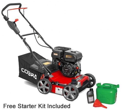 Cobra S40C 2-in-1 Petrol Scarifier and Aerator
