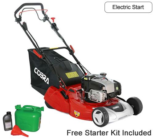 Cobra RM513SPBI Electric Start 3 Speed Petrol Rear Roller Mower