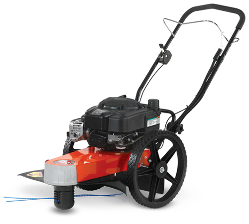 DR TR4 Pro 8. 75 Recoil Wheeled Trimmer / Mower. Built with commercial grade Briggs and Stratton engines for extra power and performance in heavy mowi