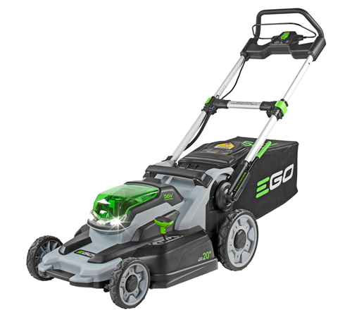 The EGO Power + LM2000E push cordless lawnmower has all the features you would expect from a petrol mower but has the advantage of using a re-chargeab
