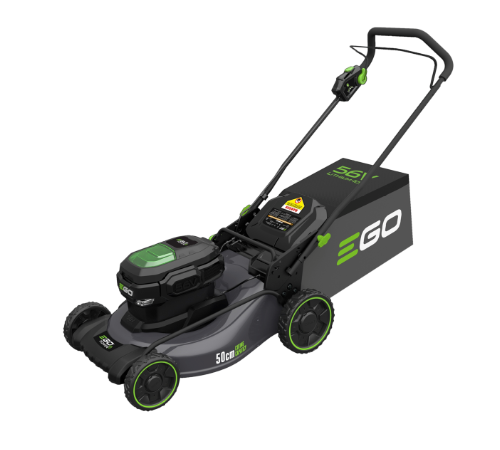 EGO Power + LM2011E Cordless Steel Deck Lawnmower c/w battery and charger