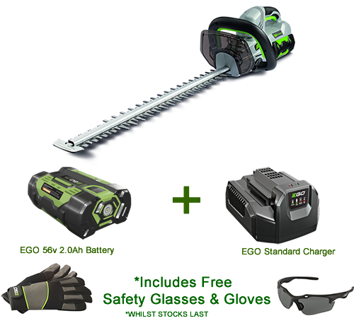 EGO Power  HT2401E Cordless 56v Hedgetrimmer Kit