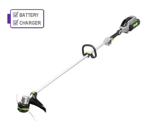 EGO Power + ST1511E Loop Handle Cordless Grass Trimmer c/w Battery and Charger