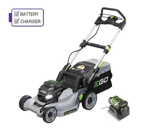 EGO LM1701E Push 42cm Cordless Lawn mower c/w battery and charger