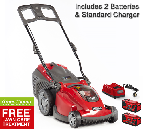 Mountfield Princess 34LI (48V) Cordless Lawn mower