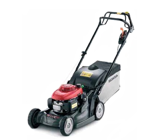 The Honda HRX476 HY is a self propelled 4 wheel lawn mower with a 160cc OHC engine, 19 inch cutting width, polystrong polymer deck and variable 4 in 1