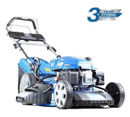 Hyundai HYM530SPE Electric Start 4 in 1 Self Propelled Petrol Mower
