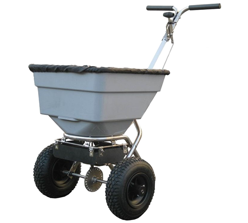 Take the hardwork out of gritting your path or drive this Winter with a wheeled salt spreader. Avoid queuing with your shovel by the local salt bin. J