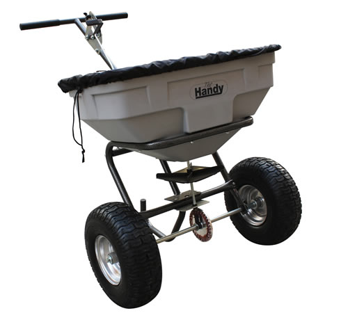 Handy 125lbs Push Spreader