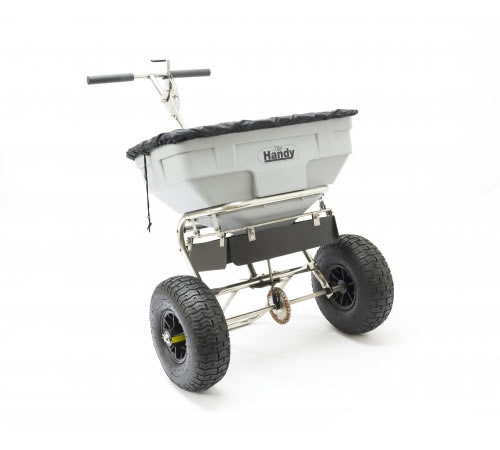 Click to view product details and reviews for Handy 125lbs Push Salt Spreader.