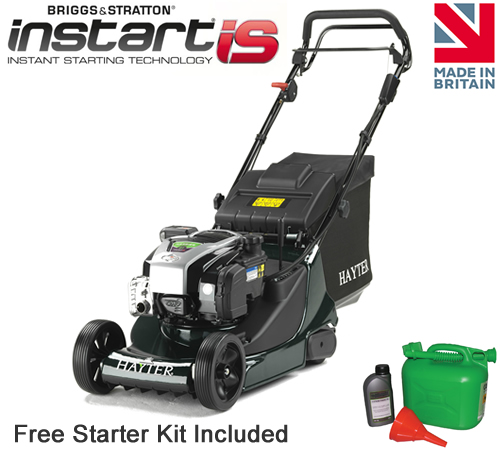 Hayter Harrier 41 AD VS ES Rear Roller Lawnmower (376)