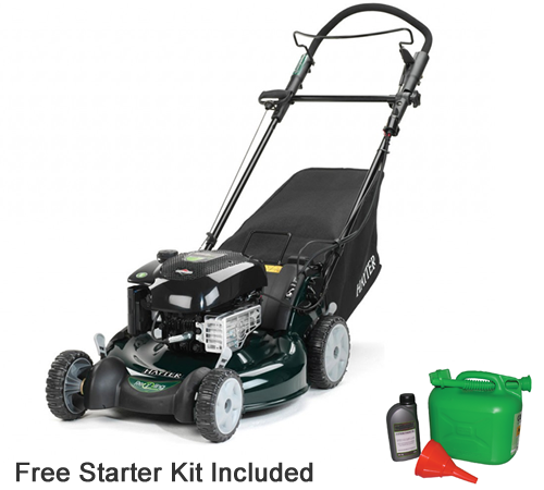 The Hayter R53S model with steel deck has been developed with both the environment and the end user at the forefront. Both R53 models offer the choice