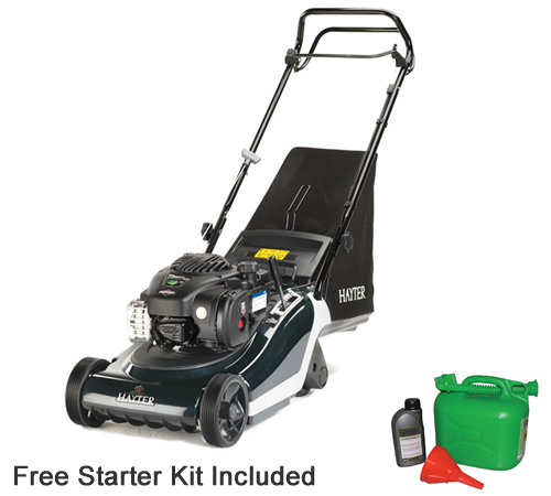 Hayter Spirit 41 Rear Roller Autodrive Lawnmower. This self propelled 41cm cut Hayter mower makes cutting the lawn effortless and leaves a wonderful s