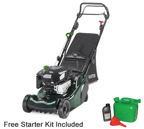Hayter Harrier 41 Autodrive Electric Start Petrol Lawn mower