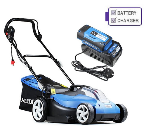 Hyundai HYM60Li420 60v Cordless 42cm Rear Roller Lawn mower C/W Battery and Charger