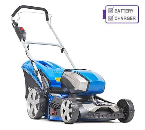 Hyundai HYM80LI460P 80V Cordless Lawn Mower c/w Battery and Charger