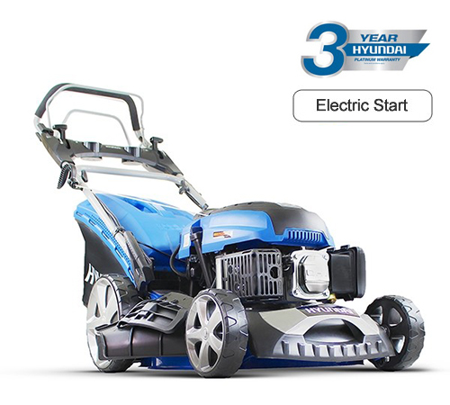 Hyundai HYM460SPE Self-Propelled Electric Start 4-in-1 Petrol Lawnmower