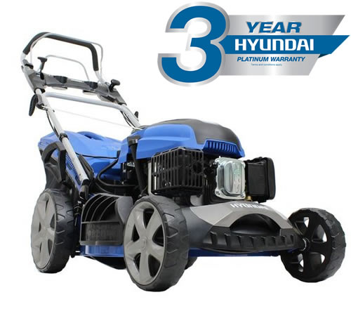 Hyundai HYM510SPE Electric Start 4in1 Self-Propelled Petrol Lawnmower