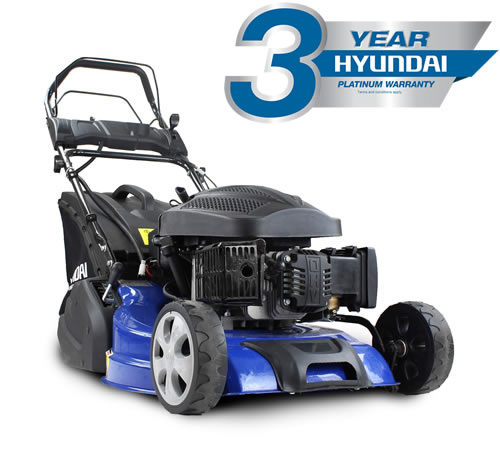 Grab the BEST Petrol Roller Mower on the market for an outstandingprice! Buy today whilst stocks last! Powered by a reliable Hyundai OHV 4-stroke petr