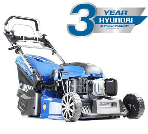 Hyundai HYM530SPER Self-Propelled Electric Start Roller Mower