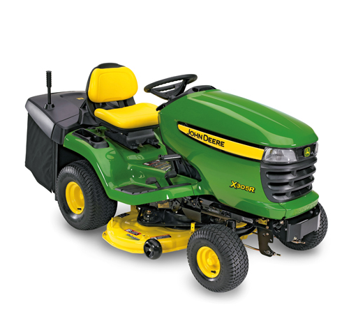 John Deere X305R Rear Collection Ride On Lawnmower