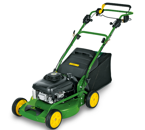 John Deere JX90 Kawasaki 4-Wheeled Variable Speed Rotary Lawnmower: Features:The short 58cm wheelbase makes turning and precise trimming easier, espec