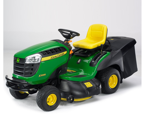 John Deere X155R Rear Collection Ride On Mower