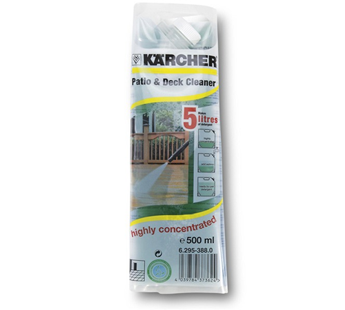 Karcher Patio amp Deck Cleaner Concentrate 500ml