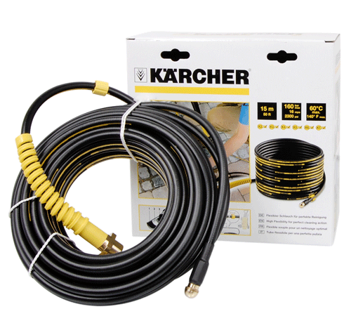 Lawn Mowers UK Karcher 15M Drain Cleaning Kit