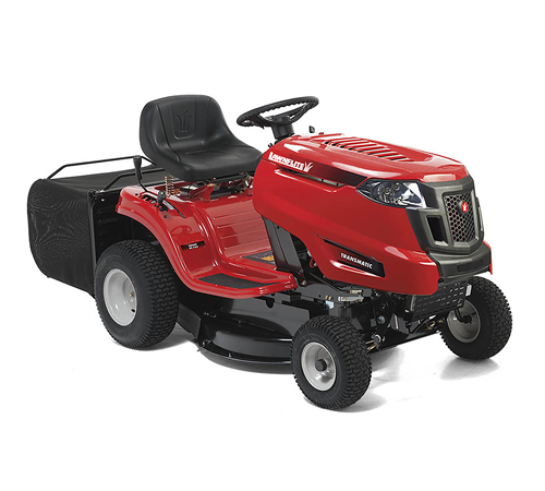 The Lawnflite 603RT Rear Collection Lawn Tractor has a cutting width of just 76cm, ideal for lawns and gardens with restricted access or a compact des