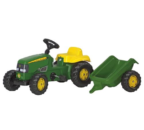 John Deere Toy Rolly Tractor & Trailer