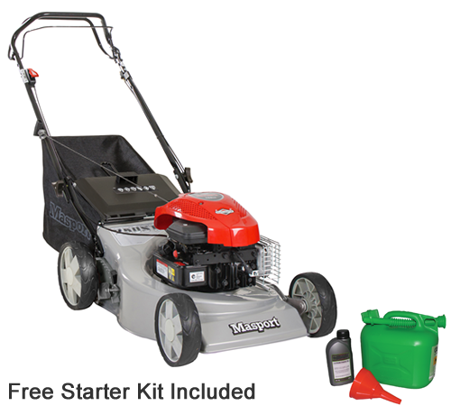 Masport 250ST Combo Self-Propelled Petrol Lawn mower