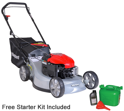 Masport Widecut 800 AL Push Combination Petrol Lawn mower
