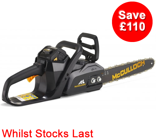 McCulloch LI40CS 40v Cordless Chainsaw Kit