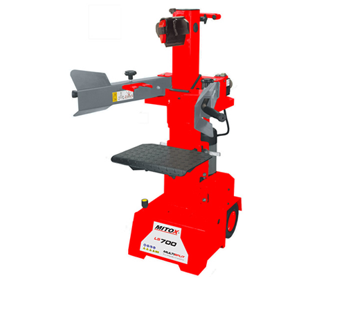 Vertical log splitters are ideally suited to larger scale splitting tasks in a domestic or professional setting. The Mitox LS700 is an electric vertic