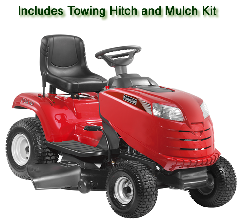 Mountfield 1538M-SD Side Discharge/Mulching Ride On