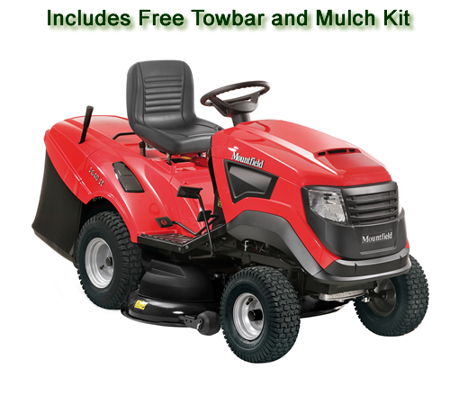Mountfield 1640 H Rear Collection Ride on Lawnmower