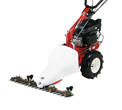 Mountfield Manor 95H multi tool power unit- 87cm double blade Scythe mower attachment.