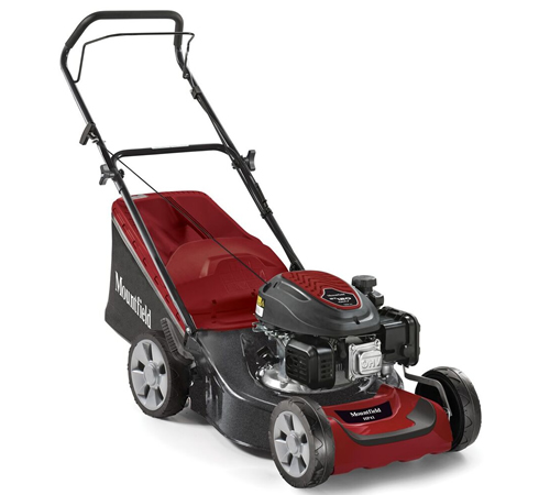 The Mountfield HP42 is an entry level Mountfield HP42 rotary mower, it has a plenty of high-end features including a sturdy steel deck, reliable Mount
