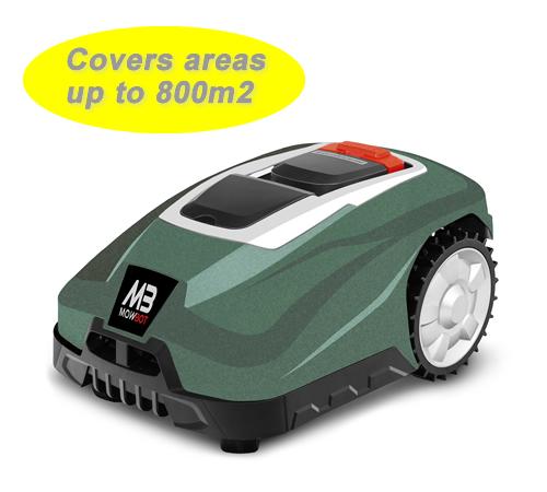 Mowbot 800 28v 2.5Ah Robotic Lawnmower Metallic Green