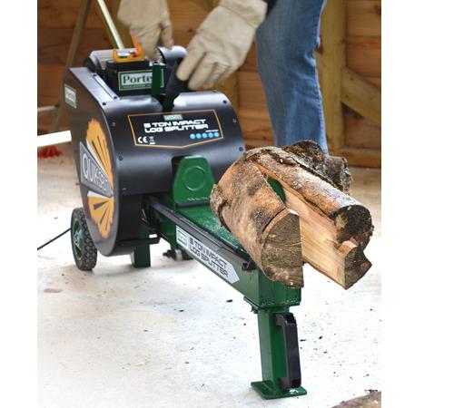 Portek Electric Quiksplit 5 Ton Log Splitter