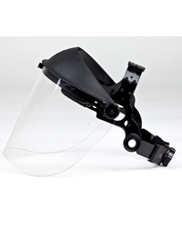 Brushcutter Clear Visor with Plastic Strap