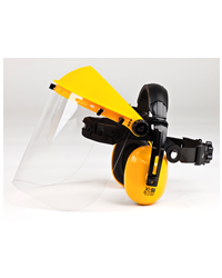 Brushcutter Combi Clear Visor with Ear Defenders