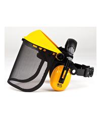 Brushcutter Combi Mesh Visor with Ear Defenders