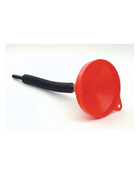 This polyethylene fuel funnel is ideal for using with petrol garden machinery such as lawn mowers, lawn tractors, chain saws etc. The funnel is 45cm l