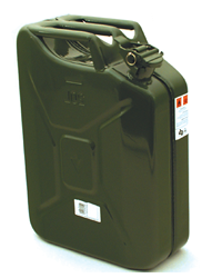 Lawn Mowers UK 20 Litre Metal Jerry Can