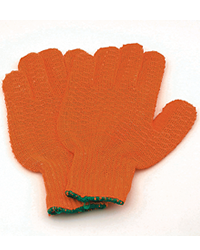 These general purpose, workshop orange knitted material gloves come in one size and have an anti-slip coating which provides excellent grip for workin