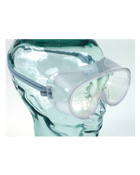 With a lightweight PVC frame these safety goggles are ideal for wearing when using garden equipment including brush cutters, grass strimmers and hedge